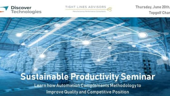 John Abplanalp to Speak About Increasing Manufacturing Performance at 2019 Sustainable Productivity Seminar, Charlotte, NC.